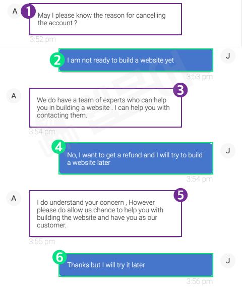 블루호스트 환불받는 방법 6단계