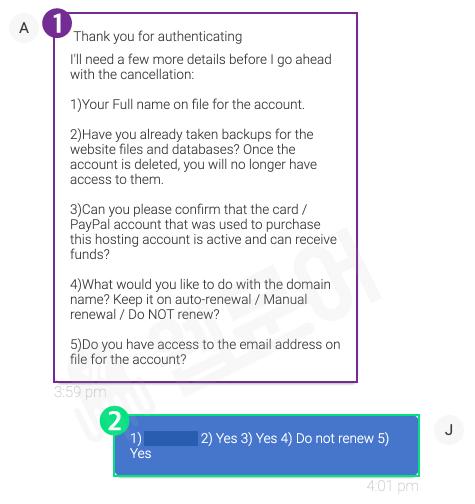 블루호스트 환불받는 방법 10단계