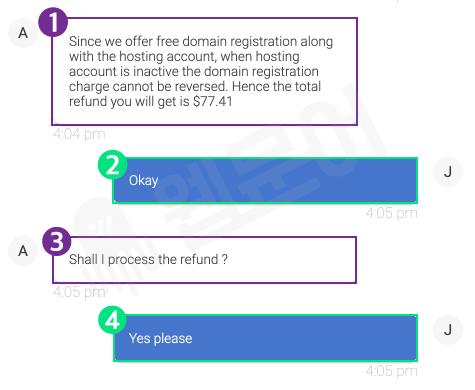 블루호스트 환불받는 방법 11단계