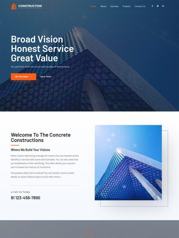 기업 홈페이지 디자인