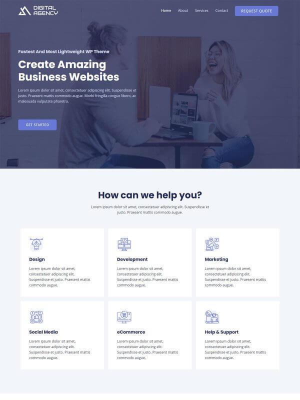 회사 홈페이지 디자인