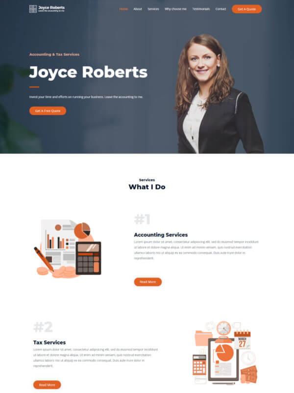 개인 홈페이지 디자인