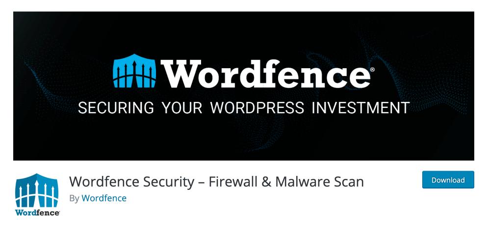 워드프레스 플러그인 wordfence security