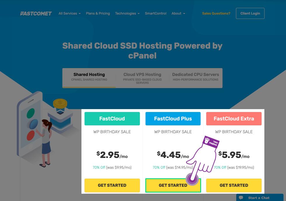 웹사이트 호스팅 선택